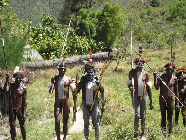 племена Новой Гвинеи