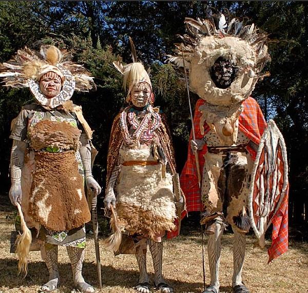 Народ племени Кикуя