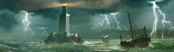 Александрийский маяк и мавзолей Александра Великого
