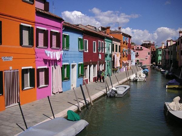 Остров Бурано, Венеция, Италия