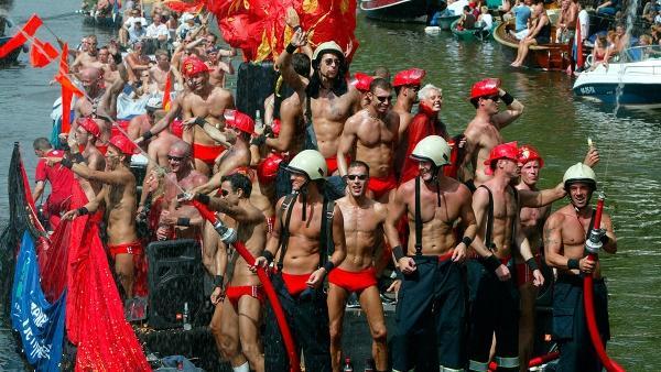 гей-парад, Амстердам
