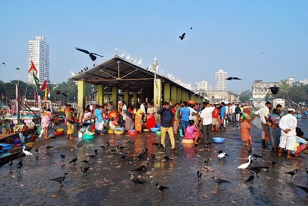 рыбный рынок Мумбаи