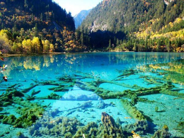 Бирюзовое озеро,Китай
