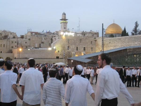 шаббат,  Иерусалим