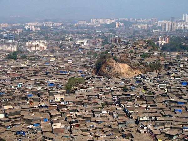 Трущобы Индии