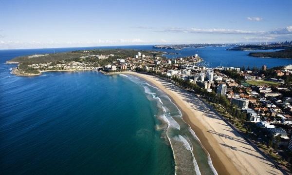 Сидней, пляж Мэнли