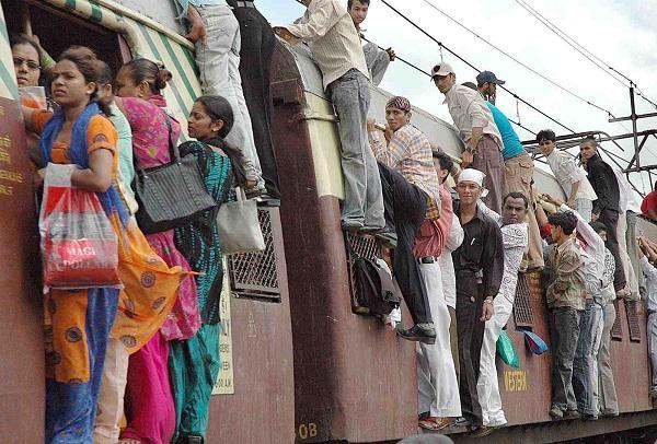 мумбайские пригородные поезда