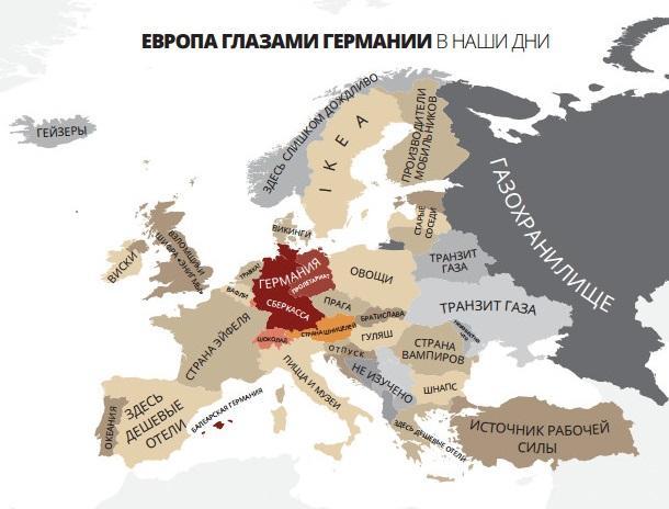 Европа глазами Германии