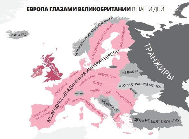 Европа глазами Великобритании