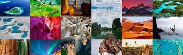 7 красивых мест в мире