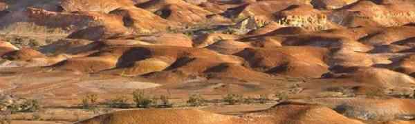 Подземный город в Южной Австралии  - Кубер-Педи