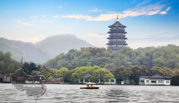 Западное озеро в Ханчжоу - земной Рай на Земле