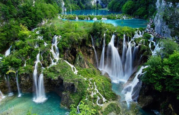 водопады Шри-Ланка