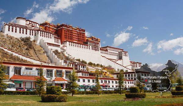 Символ Тибета - Дворец Потала в Лхасе