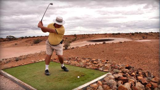 гольф  в  Кубер-Педи