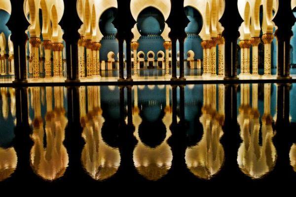 Большая мечеть шейха Заида - Абу-Даби